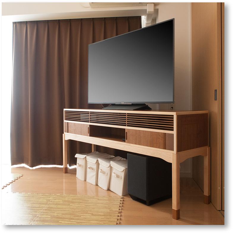 特注のテレビボード