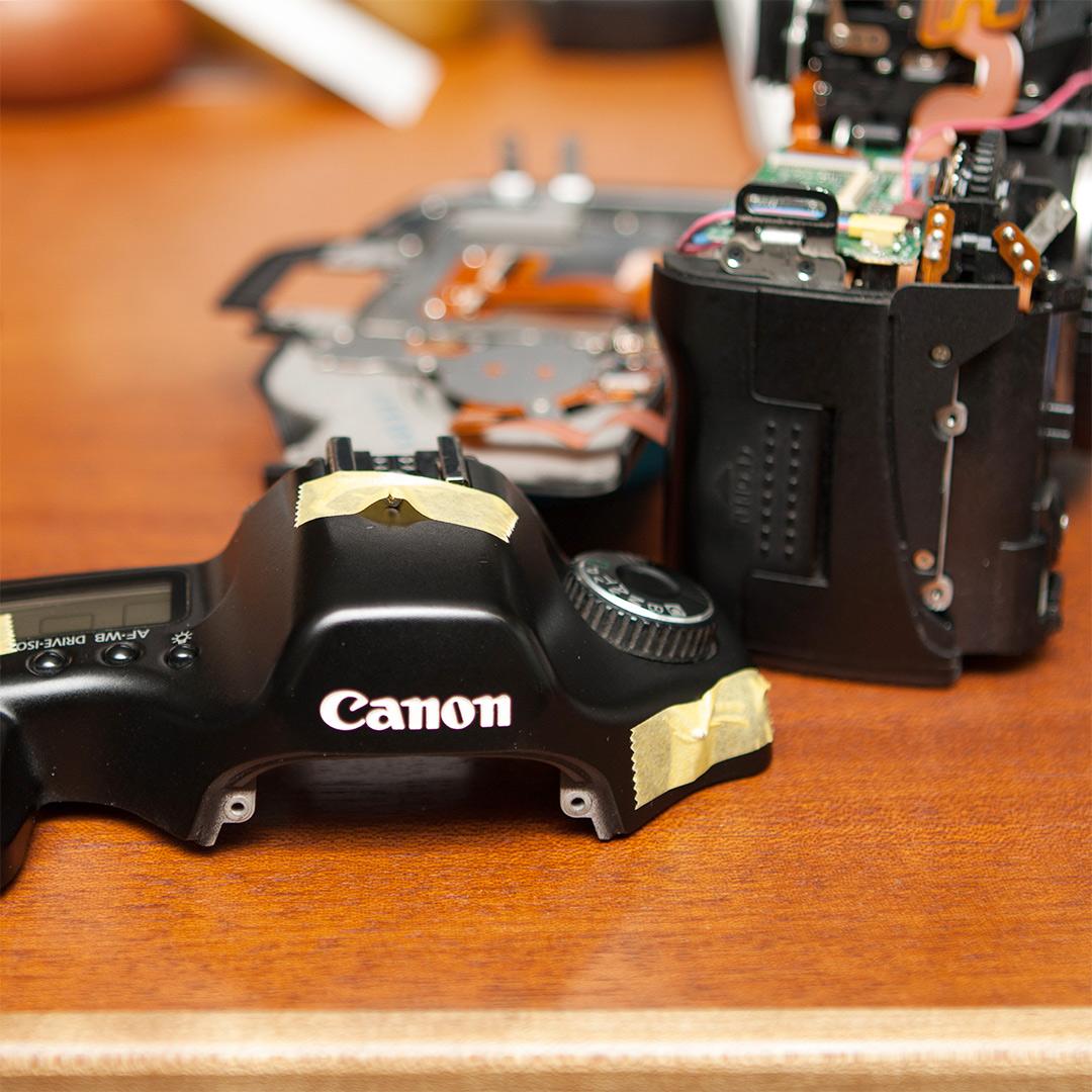 CANON EOS5Dの分解