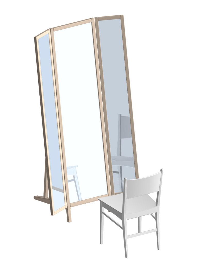 三面鏡のイメージ画像