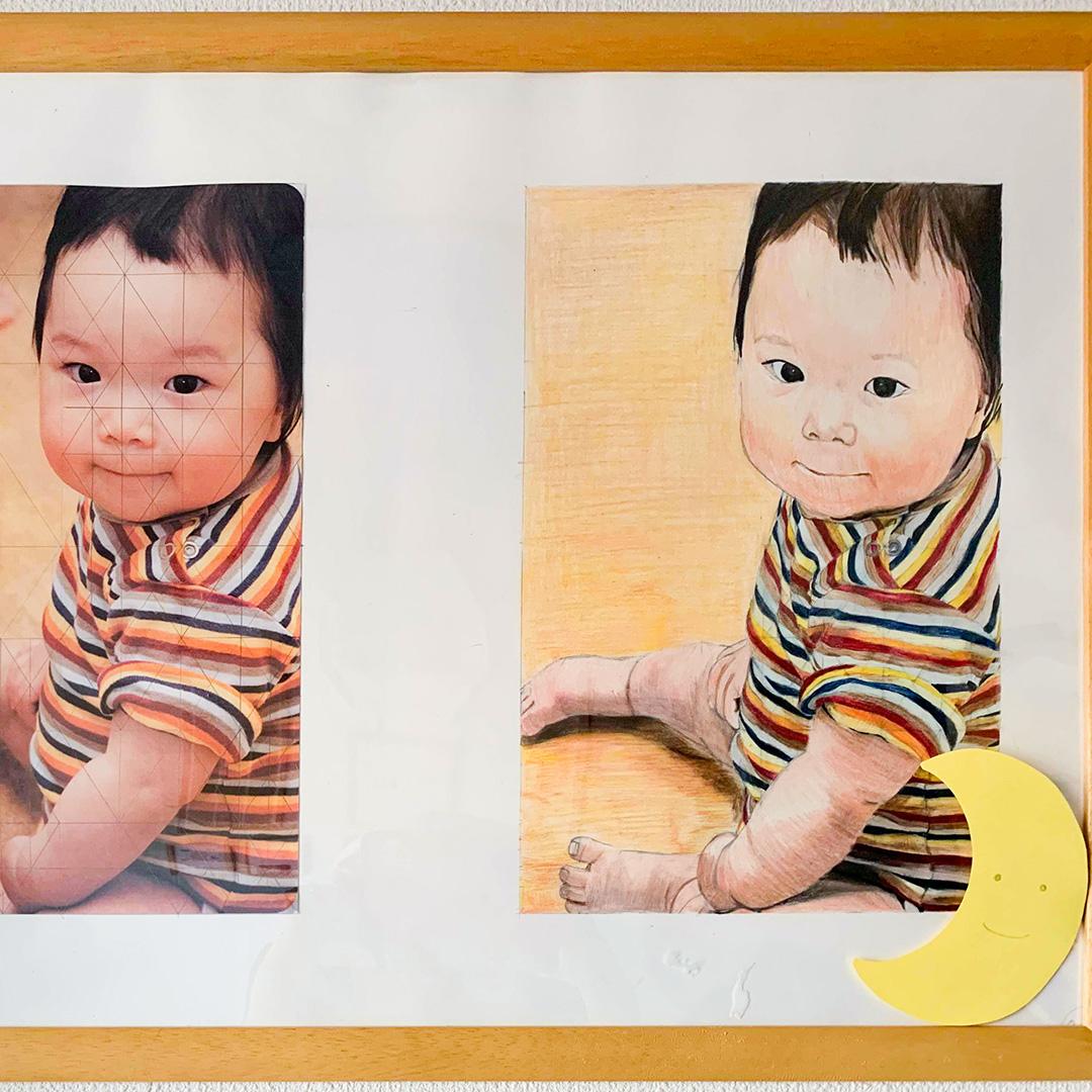 写真から色鉛筆で描く