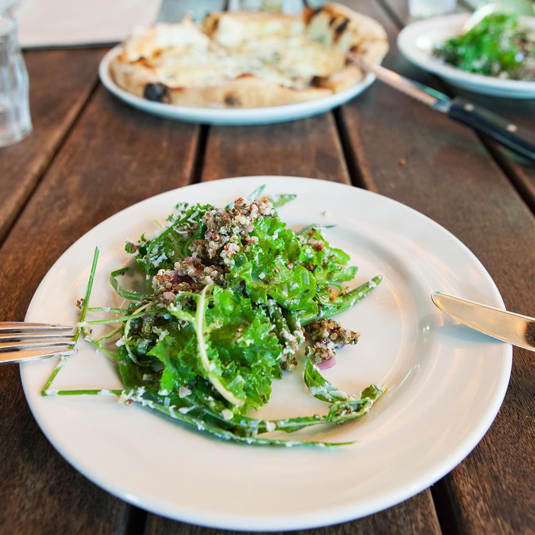 鎌倉ガーデンハウスのサラダ