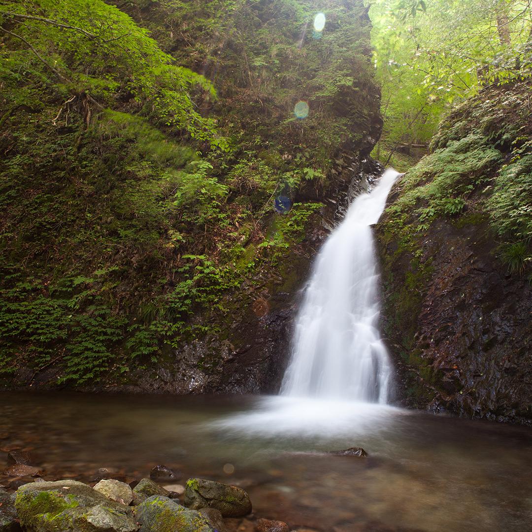 滝を撮るにあたってPLフィルターの効果は絶大だった